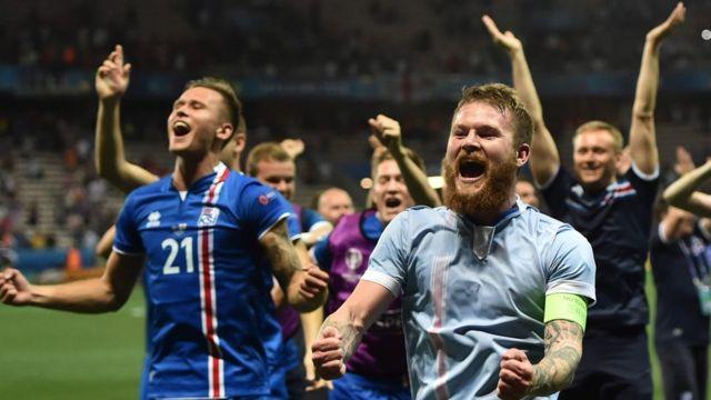 Исландские футболисты
