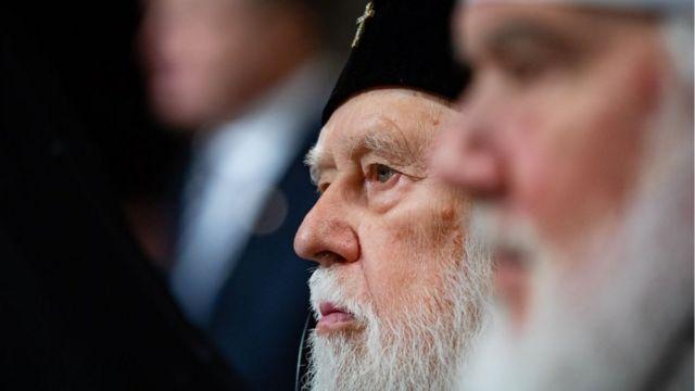 Колишній предстоятель УПЦ Київського патріархату Філарет