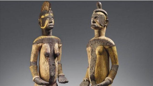 Nigerianische Artefakte