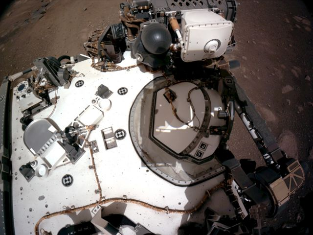 Nasa's Perseverance Mars rover deck (20 Şubat 2021)
