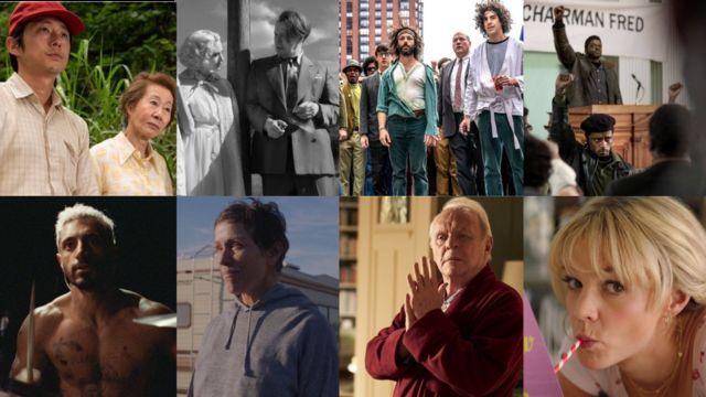Imágenes promocionales de las ocho películas nominadas al Oscar en la categoría de mejor filme.