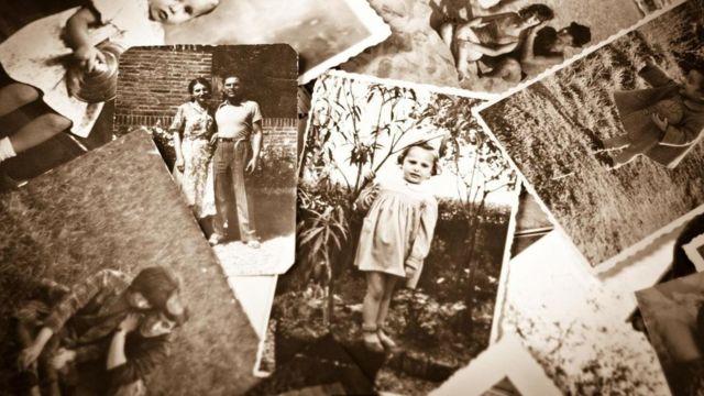 صور قديمة بالأبيض والأسود لأشخاص أثناء الطفولة