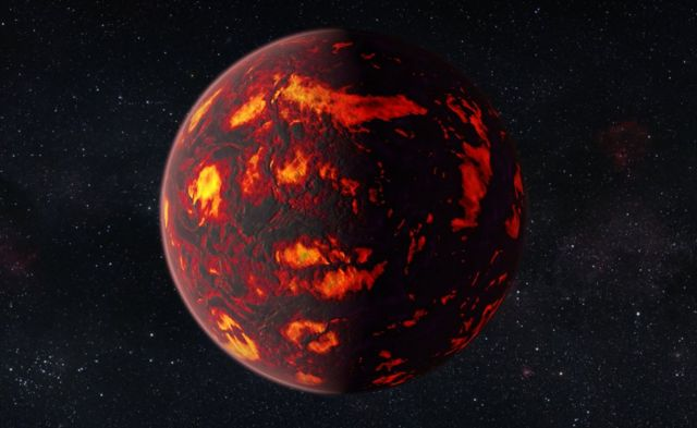 Atmosphere analysed on distant 'super-Earth'
