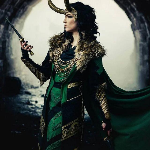 Regan as Loki