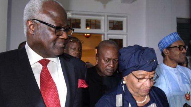 Le président élu de la Gambie Adama Barrow