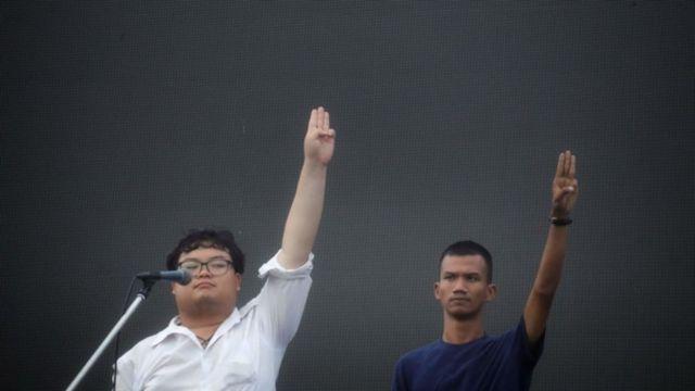 pro-demokrasi, Thailand, monarki, dekrit Thailand