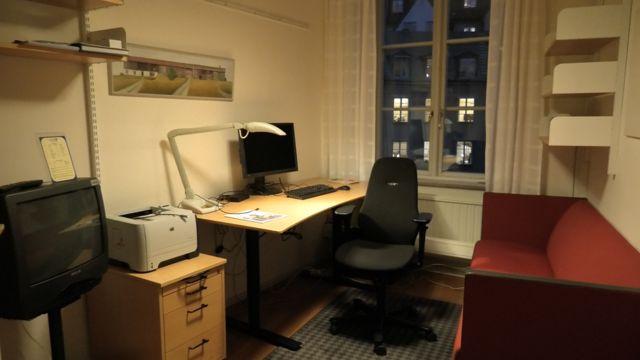 Офис шведского чиновника