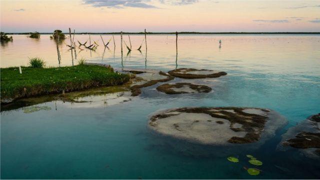 El lago Bacalar