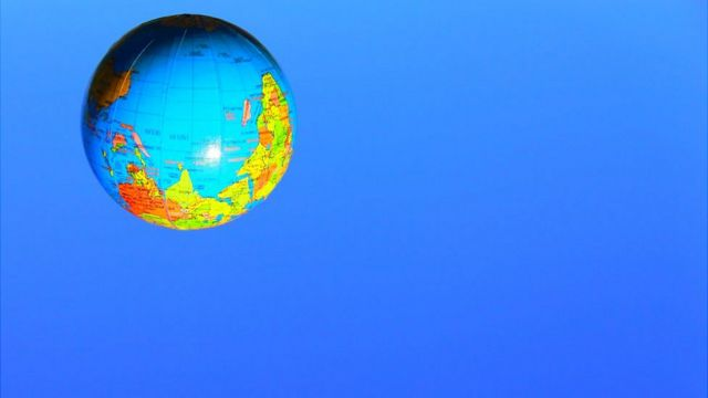 La Tierra al revés
