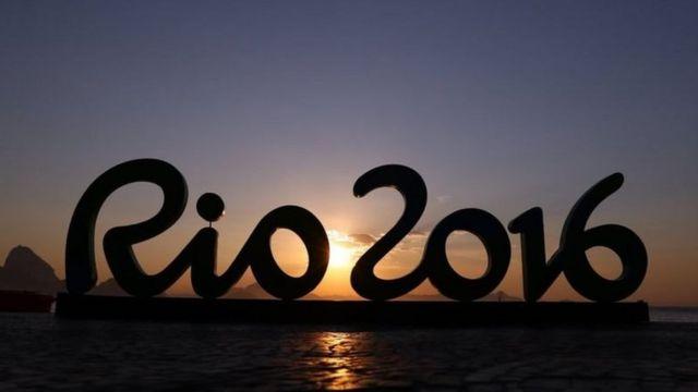 Letreiro da Olimpíada no RJ