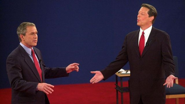 George W. Bush y Al Gore