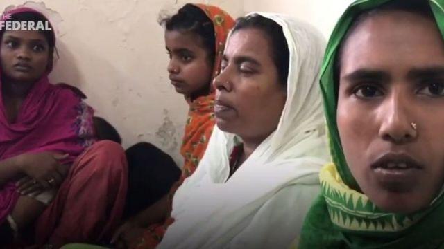 ব্যাঙ্গালোরে ধৃত আরও কয়েকজন নারী। ২৬ অক্টোবর, ২০১৯