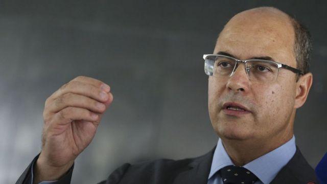 Wilson Witzel, governador do Rio de Janeiro