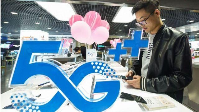 Telepon pintar 5G di Hangzhou China 31 Oktober 2019