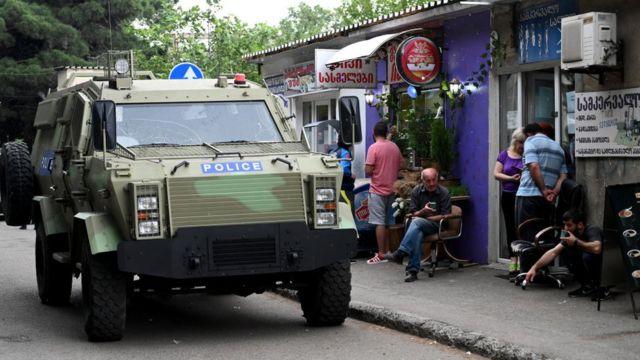 Gürcüstanda karantin rejimi tələblərinin yerinə yetirilməsinə ciddi nəzarət edilib