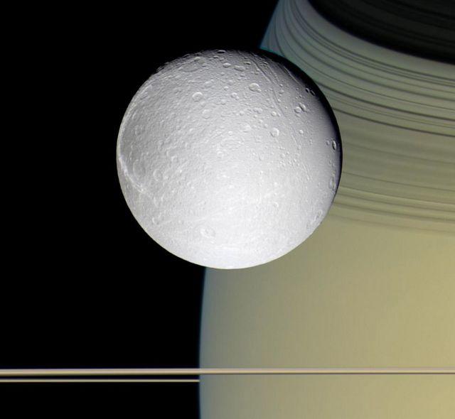 狄俄涅和土星