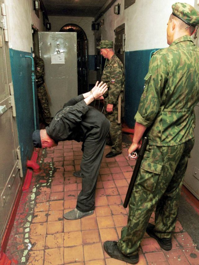 A man held at a high-security prison in Sosnovka, Mordovia republic