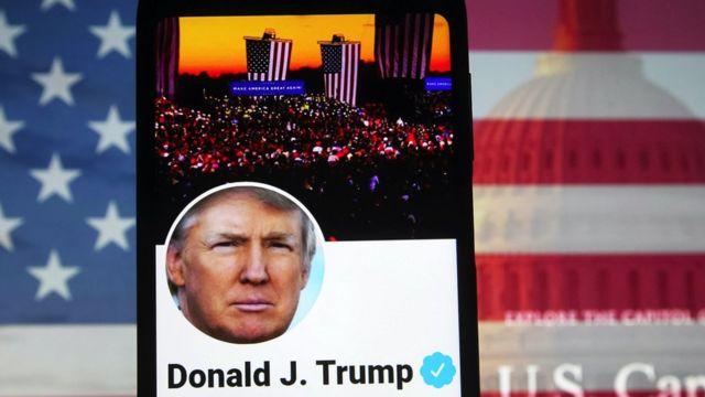 حظر ترامب على تويتر