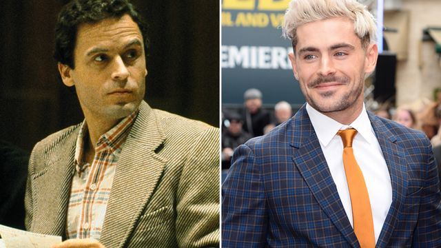 Ted Bundy and Zac Efron