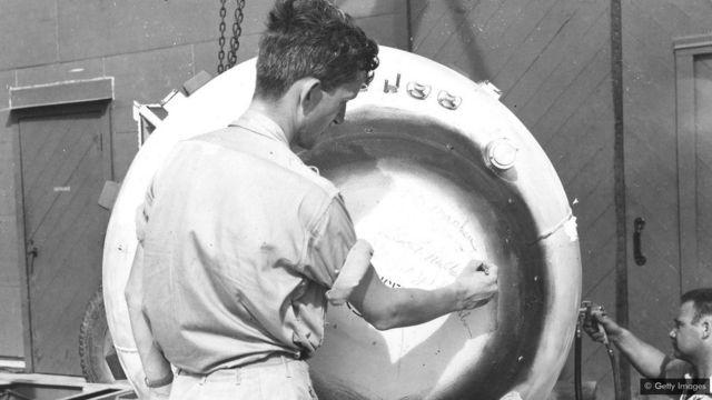 Uranium yavaga mu kirombe cya Shinkolobwe yahunitswe na Amerika ibasha kubaka ibisasu kirimbuzi byarekuriwe ku Buyapani mu 1945
