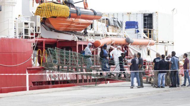 Ocean Viking gemisi