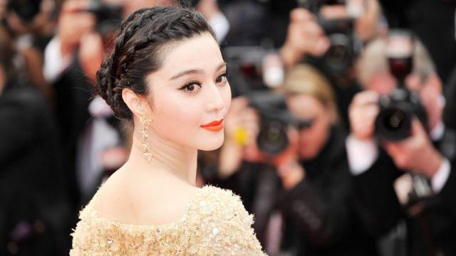 Actriz china Fan Bingbing