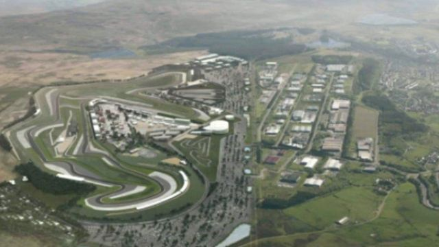 Aviva 'to fund £300m Circuit of Wales in Ebbw Vale'