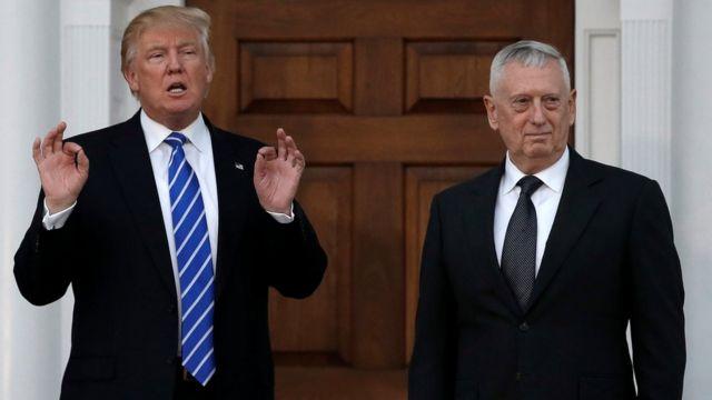 Trump con Mattis