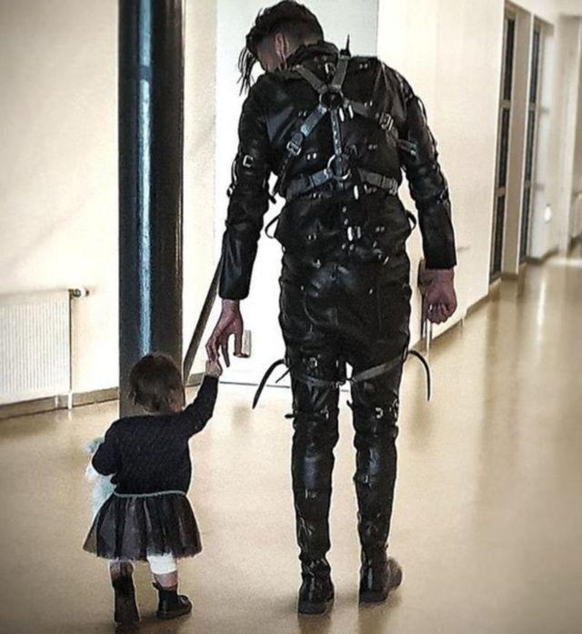 Ребенок и музыкант