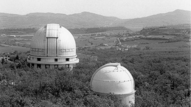Observatorio de Haute-Provence.