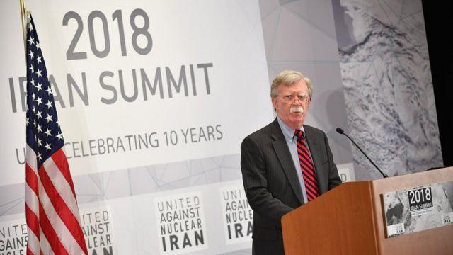جان بولتون همواره از مشوقین تغییر رژیم ایران بوده