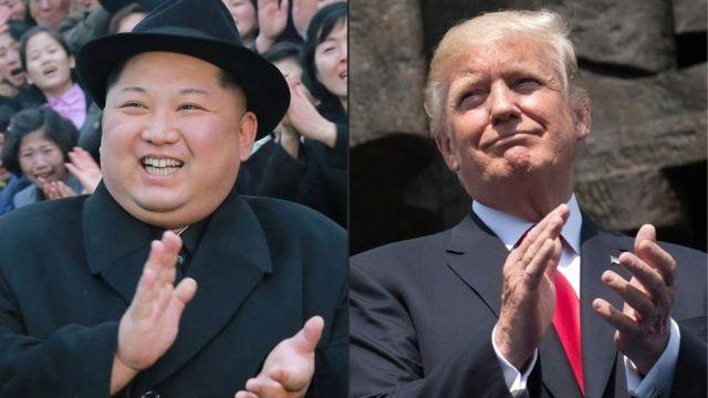 Kim Jong-un, Donald Trump