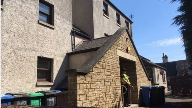 Woman was murdered by man also found dead in Elie property