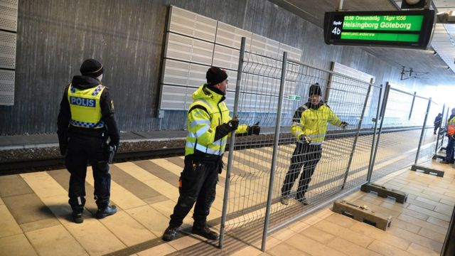 Migrant crisis: Sweden border checks come into force
