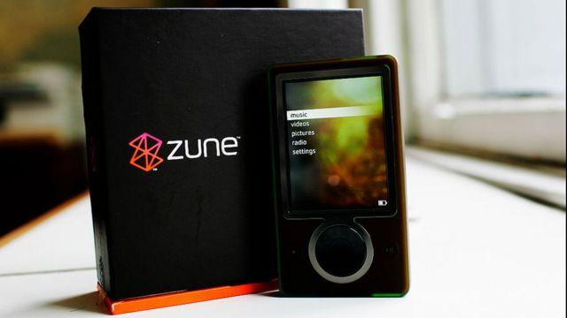 Zune MP3 player
