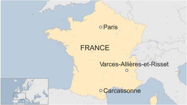 Varces-Allières-et-Risset waa halka uu weerarku ka dhacay