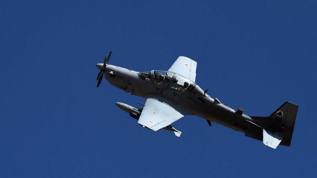 Jirgin yakin samfurin Embraer A-29 Super Tucano ne wanda kudinsa ya kai dala miliyan 600
