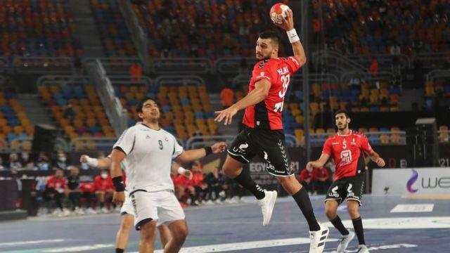 جانب من مباراة الافتتاح بين مصر وتشيلي 2021