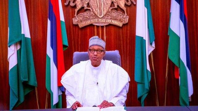 Nigeria End Sars protests: President Buhari says 69 killed in unrest
