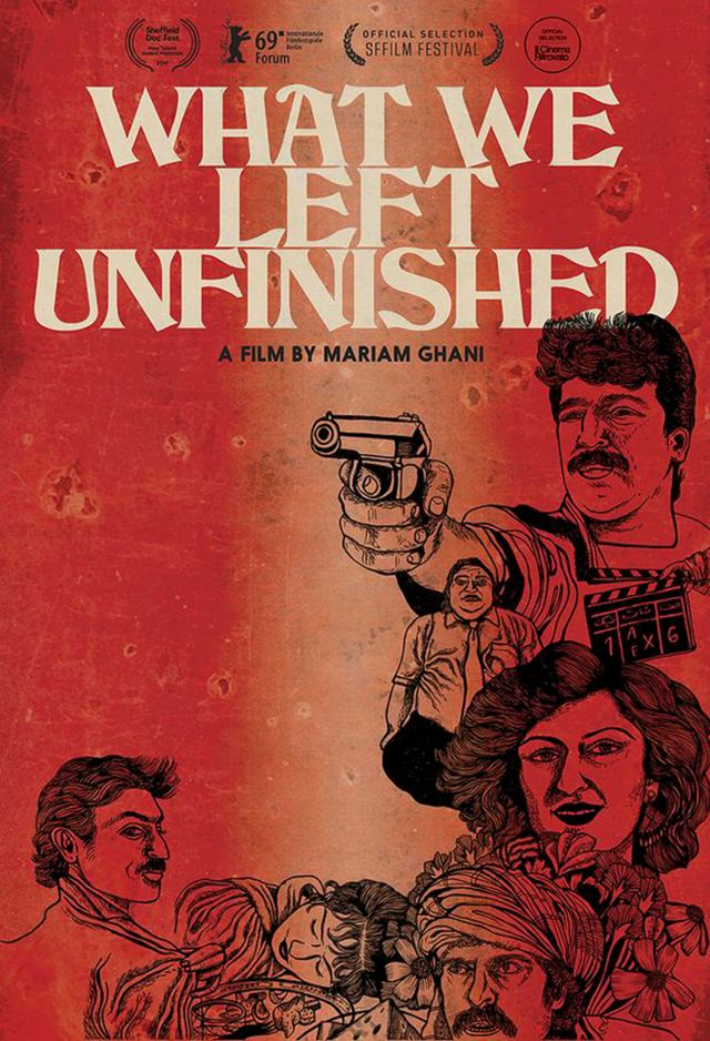 What we left unfinished/Mariam Ghani