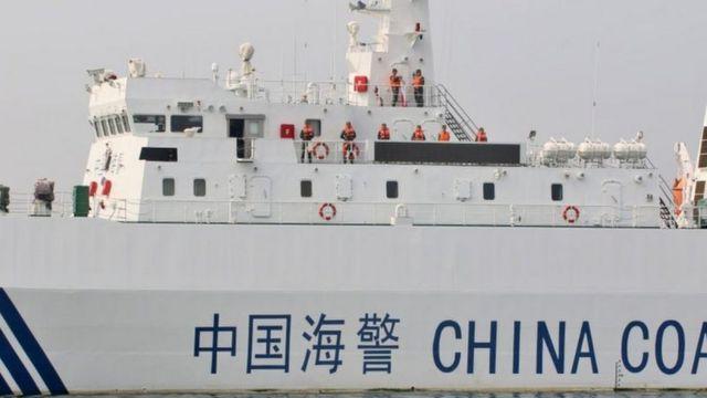 Lực lượng hải cảnh Trung Quốc luôn xuất hiện trong các khu vực có tranh chấp chủ quyền.