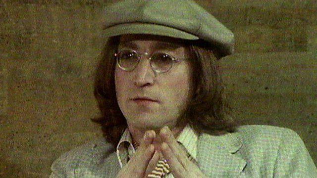 John Lennon talking about former Beatles producer George Martin