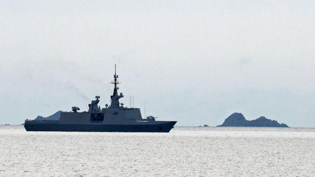 Fransız savaş gemisi Guepratte