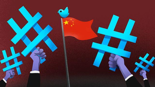 中國外交官登陸推特