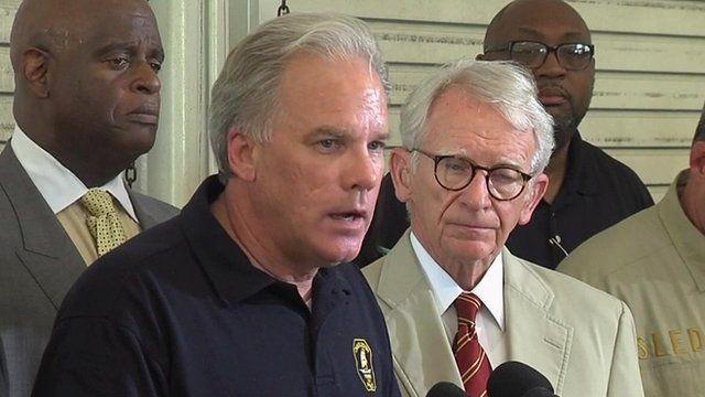 Greg Mullen, Charleston Police Chief