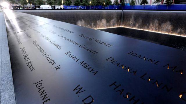 2001年の同時多発テロ事件では3000人近くが命を落とした(写真はニューヨークの「9.11記念博物館」)