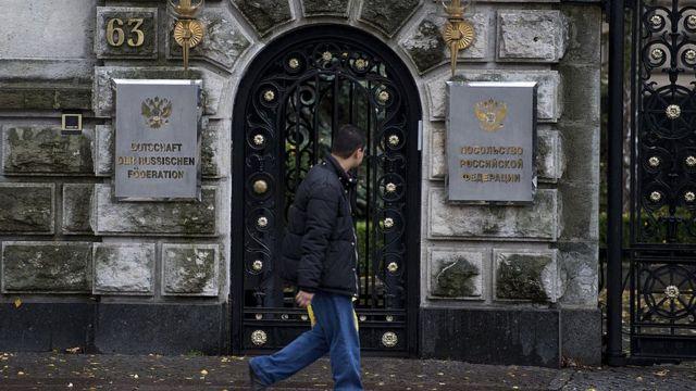 Посольство России в Берлине