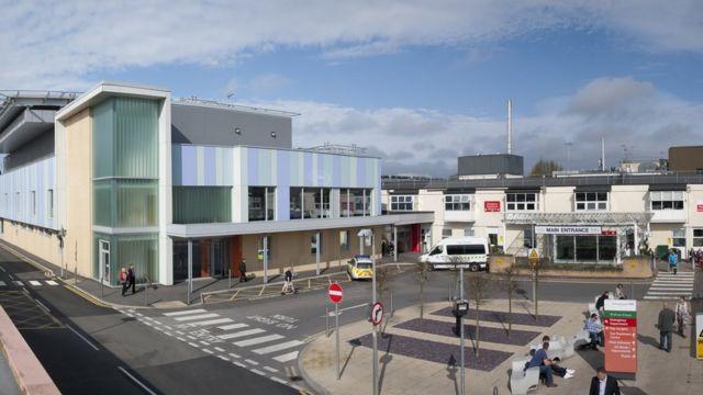 Emergência do hospital Frimley