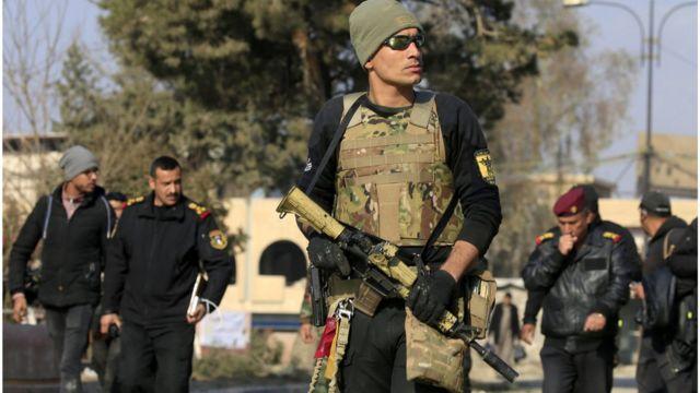 عنصر من القوات الخاصة بالجيش العراقي