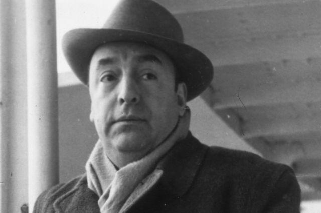 Pablo Neruda en 1952
